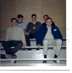 Field House 1970-Charlie Hambrook,Jim Shappert,Doug Potts, Vic Custardo, John Brooks (Dave's older brother)