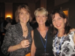 40th reunion; Becky Barclay(Houston), Maureen Rupashevski(O'Connor), Francie Reimer(Lehmer)