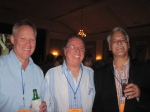 40th reunion; Mark Breit, David Gore, Dave Brooks